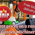 Special Offers on Garden Machinery at J Wood and Son, Kirkbymooride, North Yorkshire