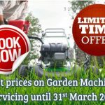 Garden Machinery Servicing Special Offers from J Wood and Son Kirkbymoorside, North Yorkshire