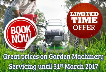 Garden Machinery Servicing Special Prices