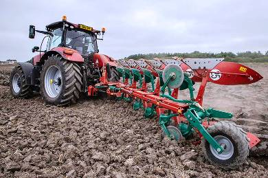 Kverneland Working Cultivation Demonstration Day